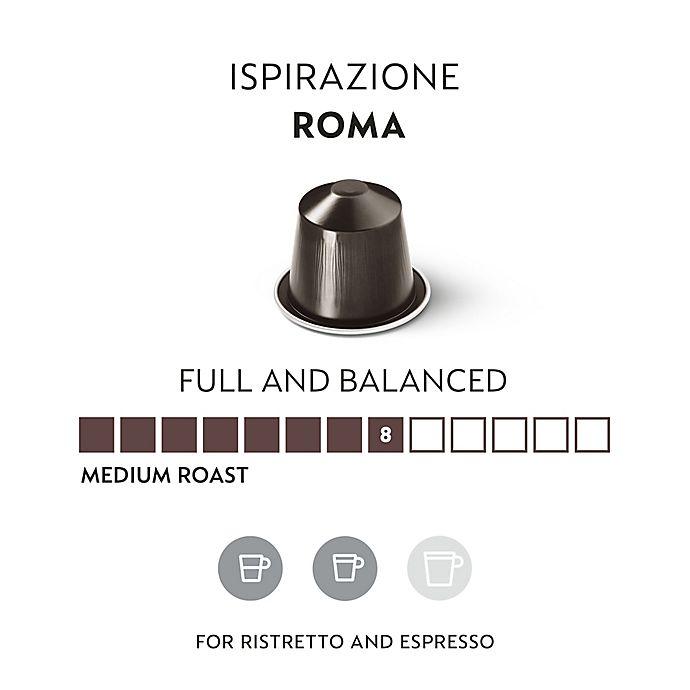 Nespresso OriginalLine Ispirazione Roma Espresso Capsules 10Count