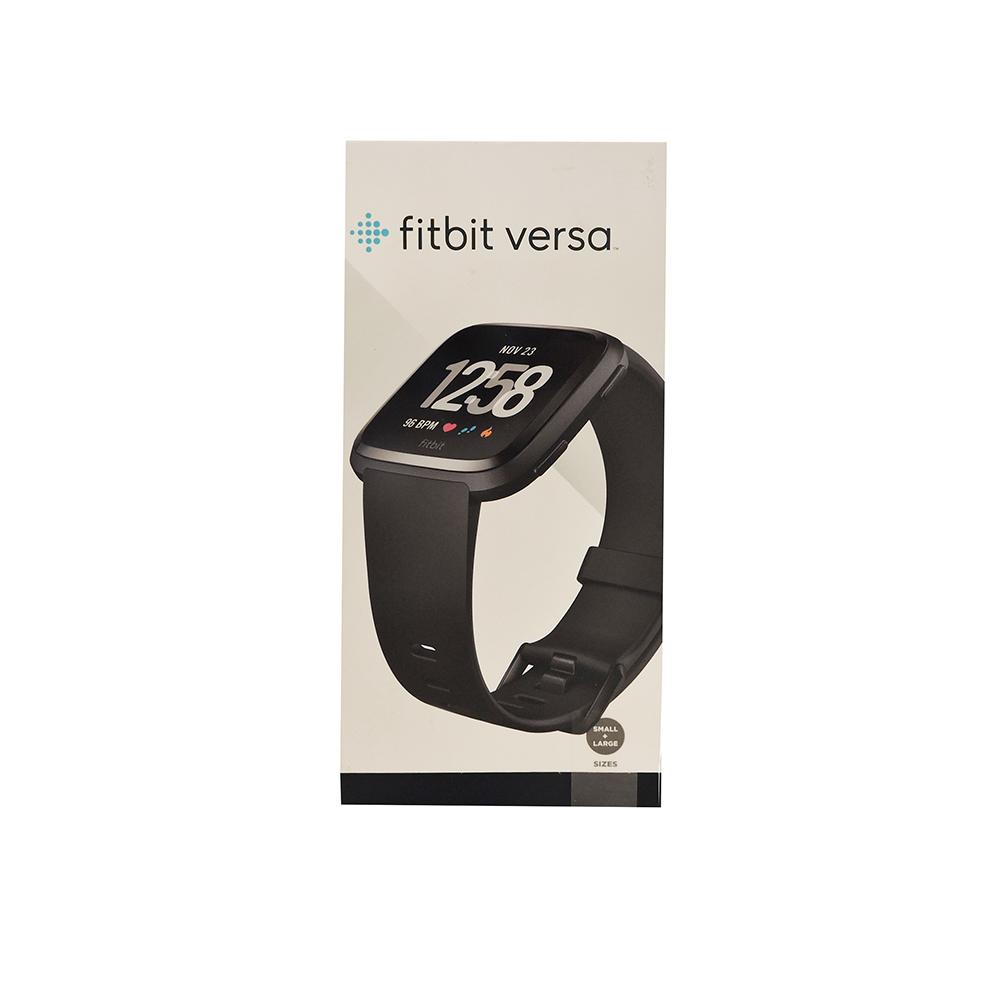 Fitbit  Versa Smartwatch  Black/Black