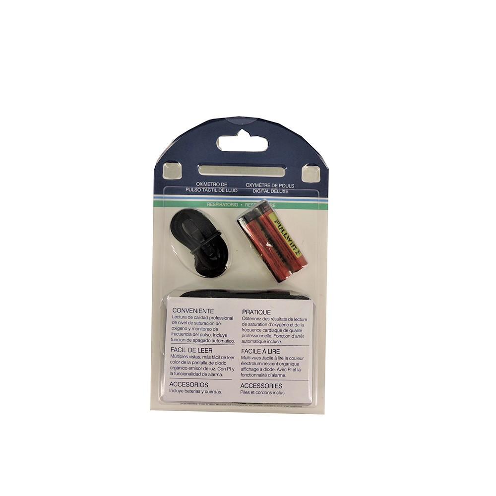 Drive Medical Deluxe Fingertip Pulse Oximeter