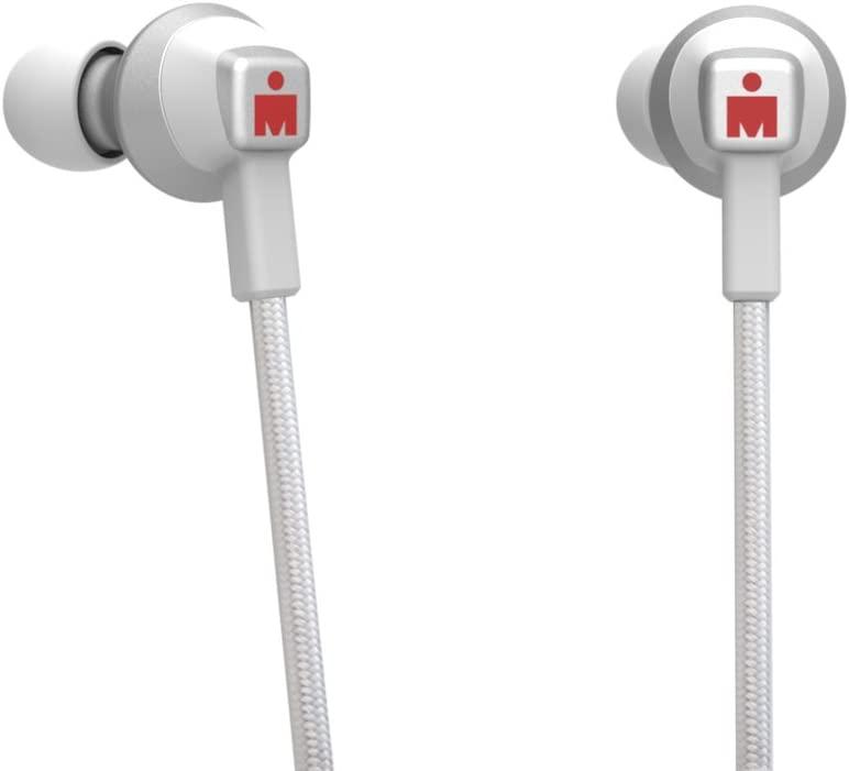 IRONMAN Wireless Sports Earphones in White