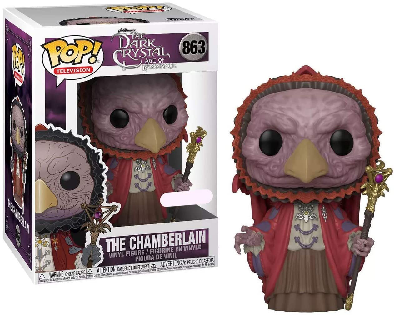 Funko POP! Television: The Dark Crystal: Age of Resistance  The Chamberlain