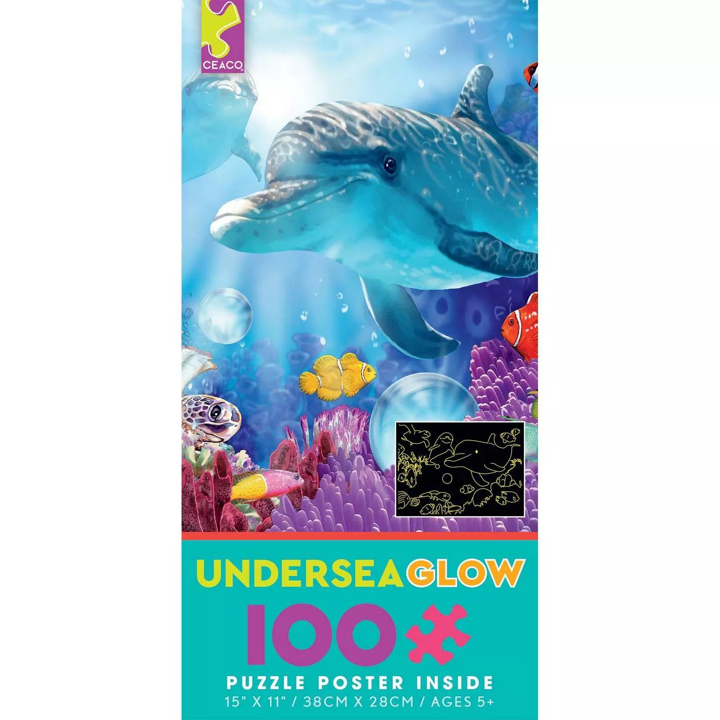 Ceaco Dolphin Journey Puzzle 100pc