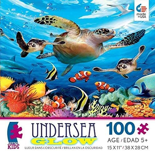 Ceaco Journey of the Sea Turtles Puzzle 100pc