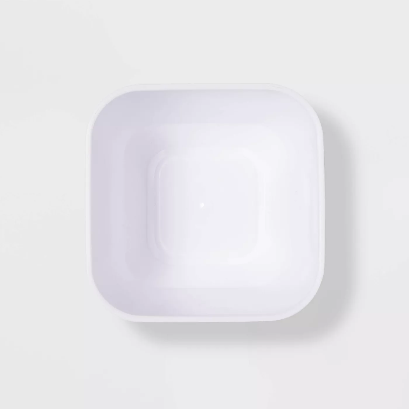 4pk Small Storage Trays White  Room Essentials