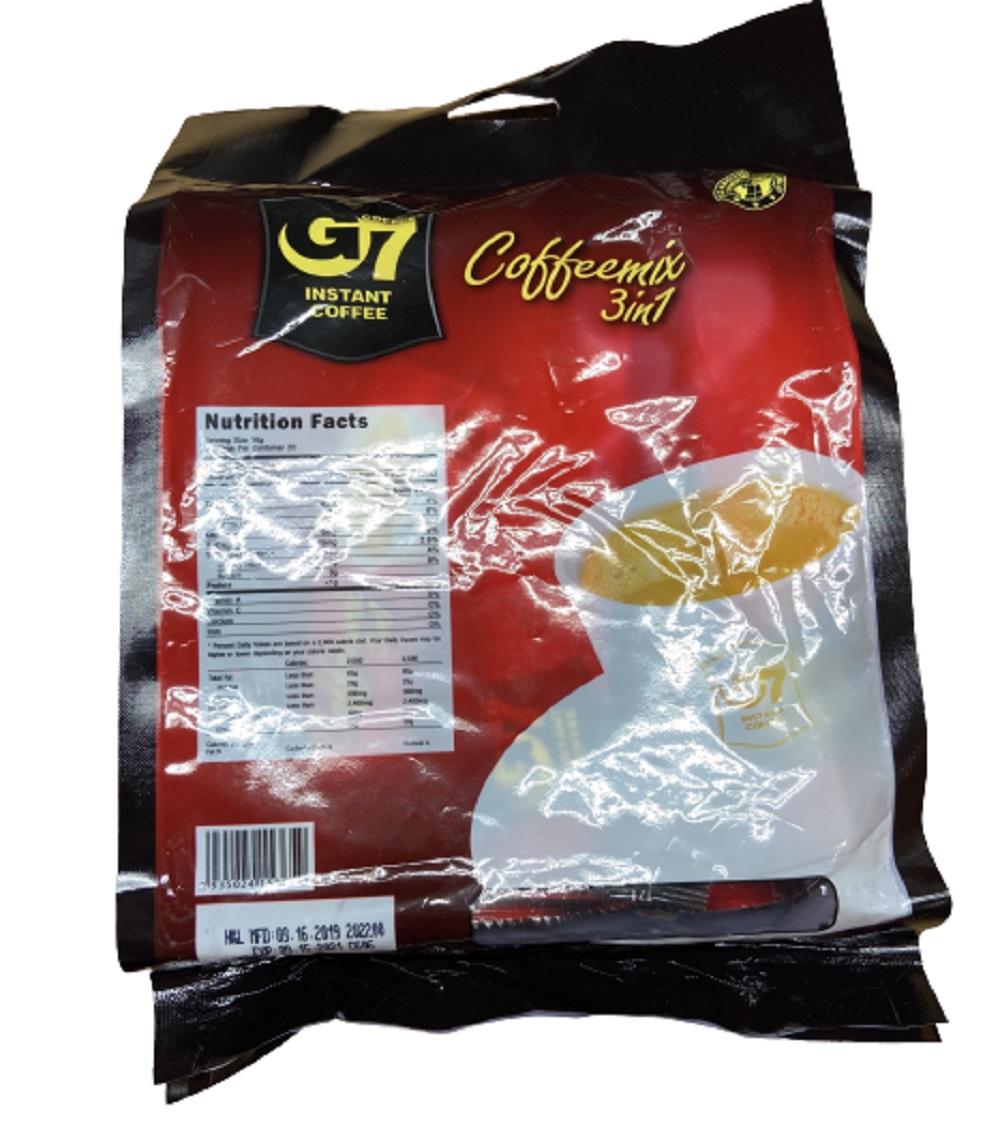 G7 Instant 3In1 Coffee, 20 Sticks x 16g (Net Weight: 11.3 oz)