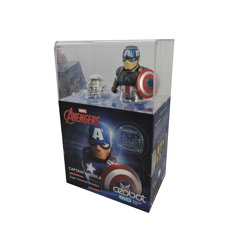 Ozobot Captain America Super Powered Robotics evo master pack