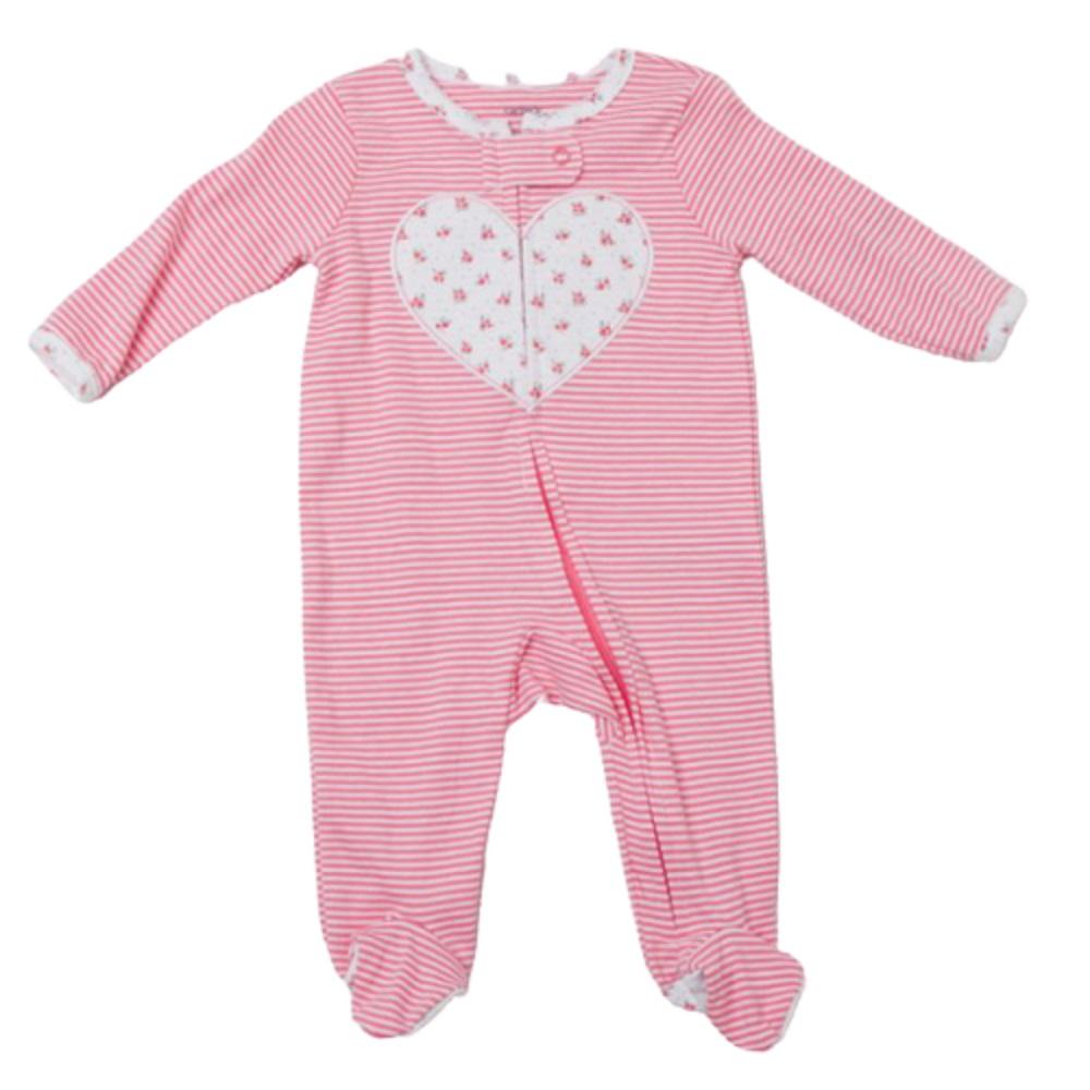 Carter's Baby 1Piece 100% Snug Fit Cotton Footie PJs In Pink, 3M