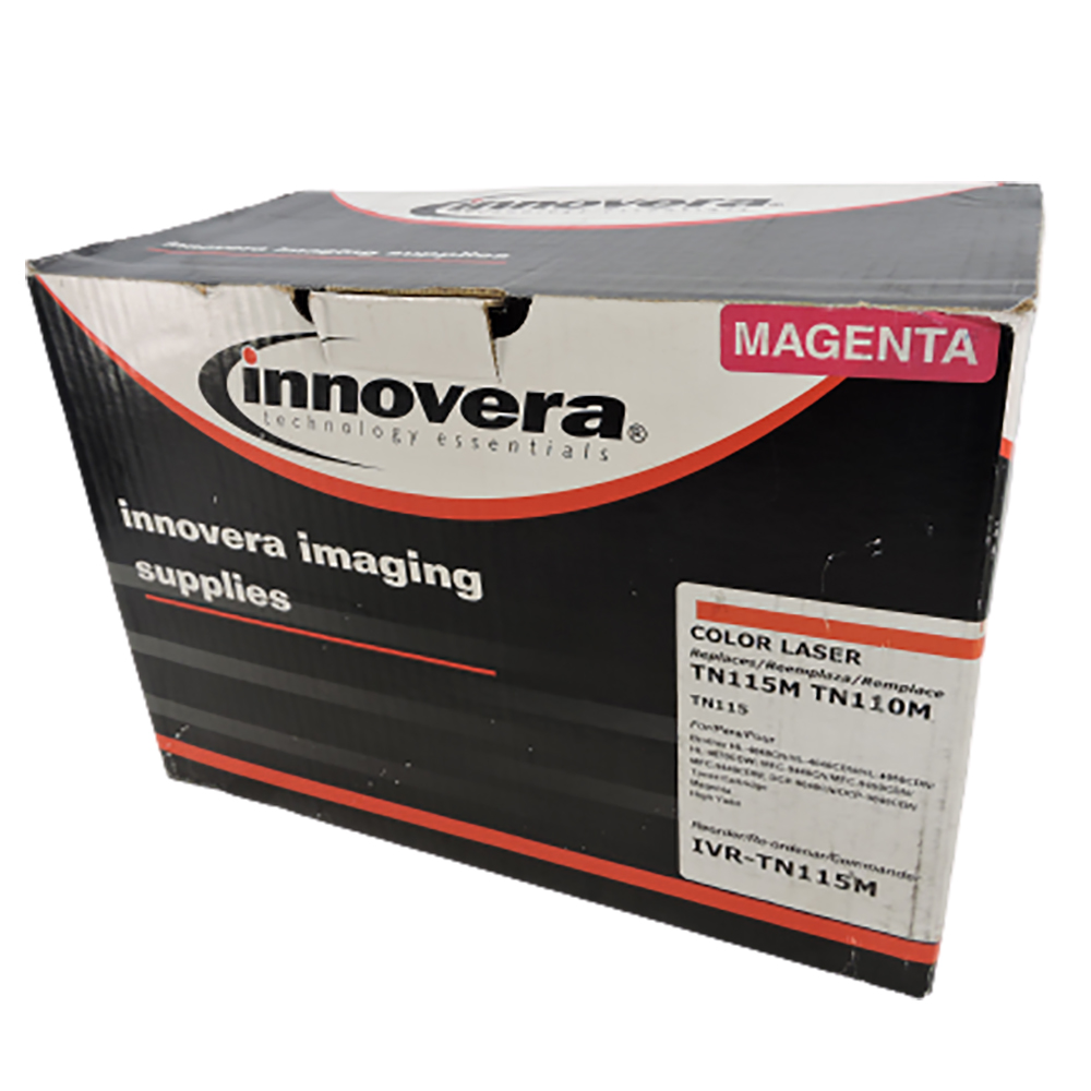 Innovera TN115 Toner Cartridge, Magenta