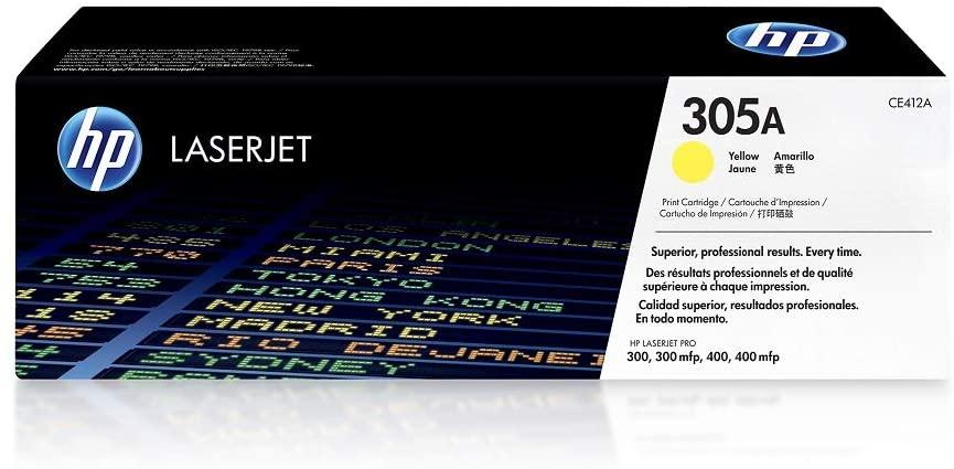 HP 305A CE412A Print Cartridge in Yellow