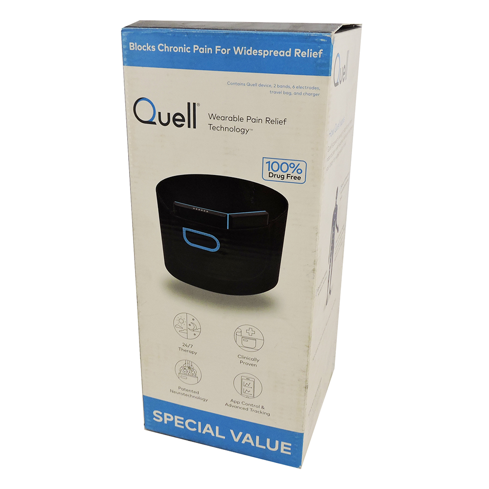 Quell Wearable Pain Relief Technology Special Value Bundle