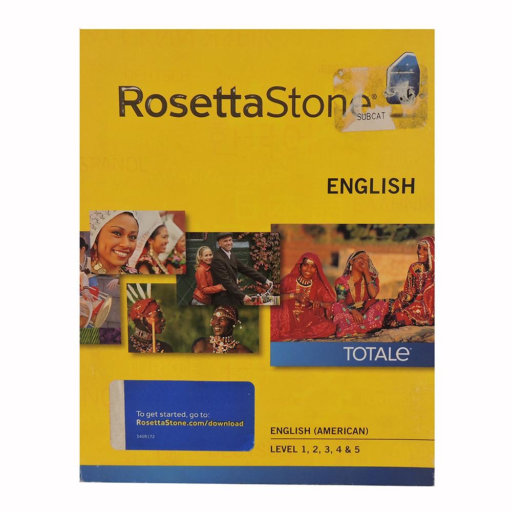 Rosetta Stone English (American)  Level 15 Set