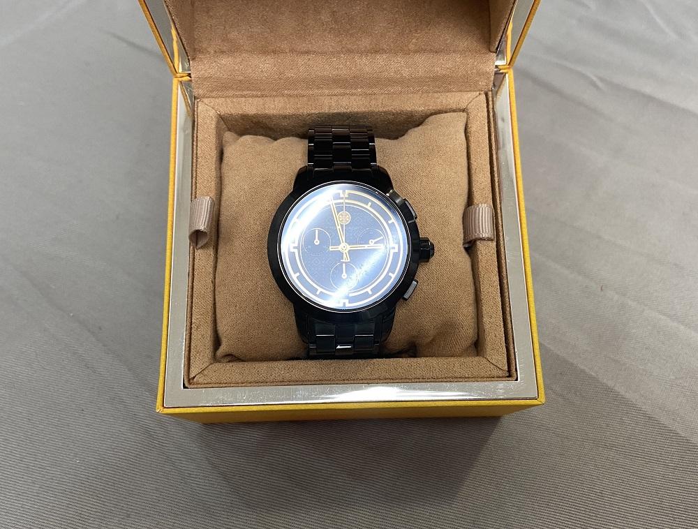 Tory Black 37mm Watch TRB1025
