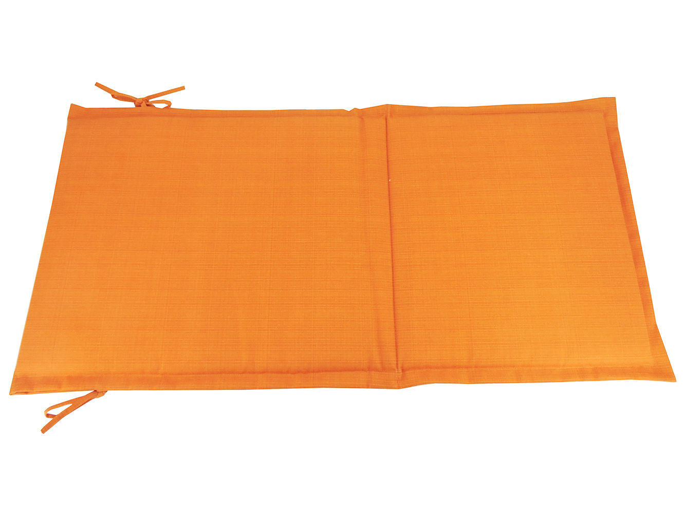 Destination Summer Outdoor Folding Sling Chair Cushion in Solid Orange