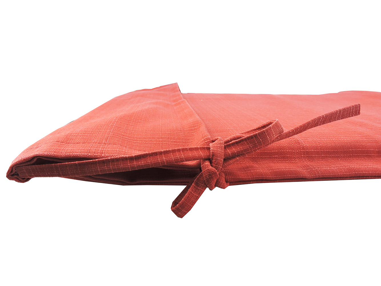 Destination Summer Outdoor Folding Sling Chair Cushion in Solid Red