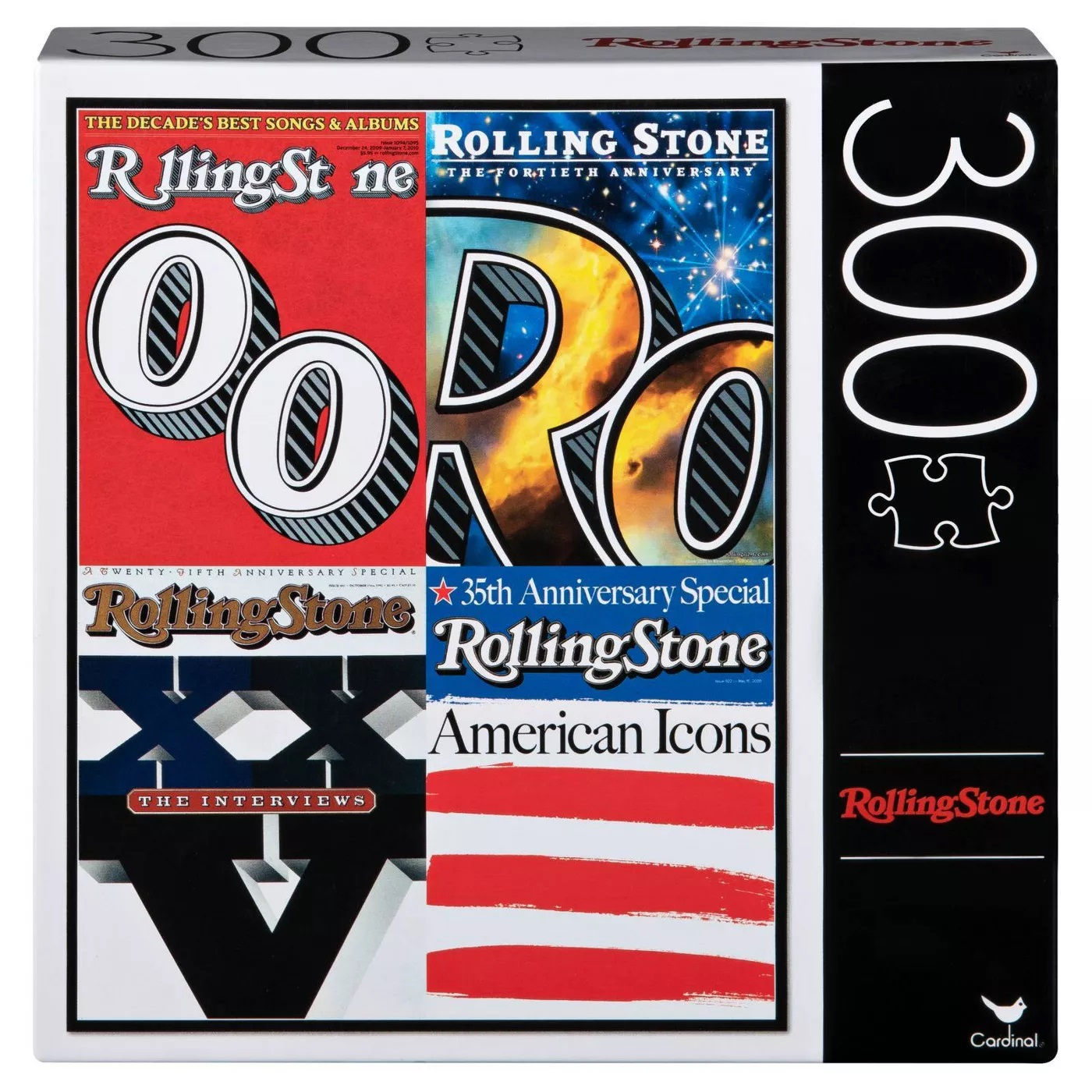 Cardinal Rolling Stone Special Edition Covers Puzzle 300pc (Pack of 3)