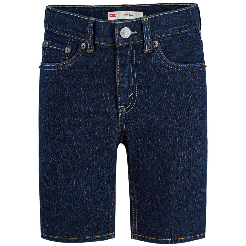 Levi's Boys' 511 Slim Fit Denim Shorts In Rinse, 8