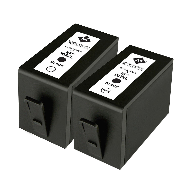 Member's Mark Remanufactured HP 902XL (2 Black Ink Cartridges)