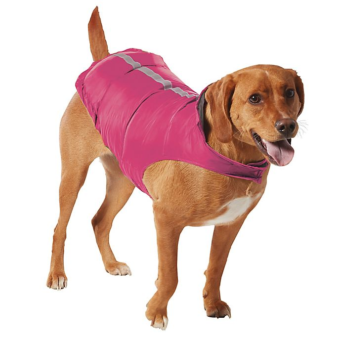 Free Country Dog Raincoat In Raspberry Silver Chip, XS