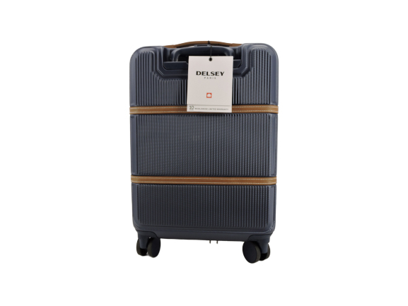 Delsey RendezVous 19 In Expandable CarryOn in Navy Blue