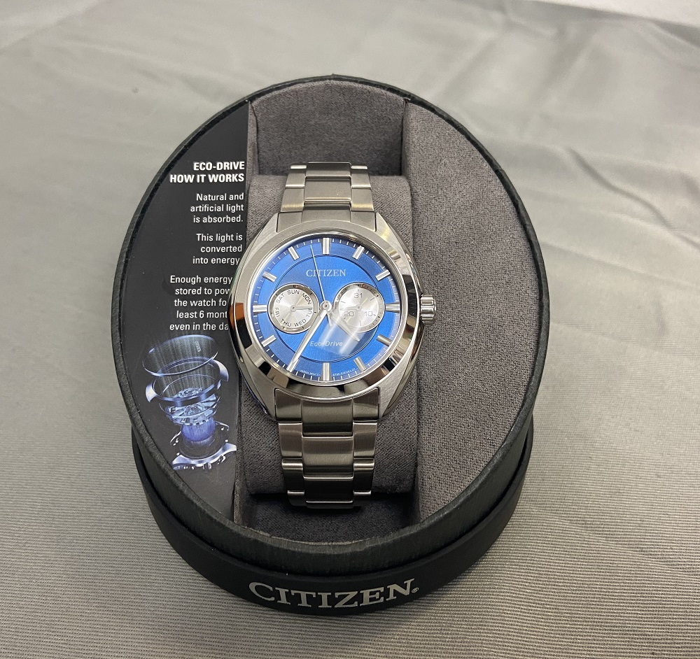Citizen Men's EcoDrive Watch BU401056L