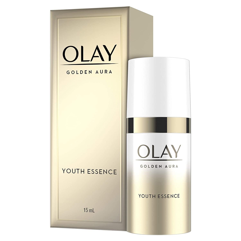 Olay Golden Aura Youth Essence 0.5 Fl Oz, Trial Size