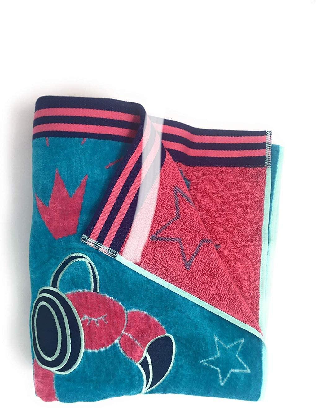 "Member's Mark Kids' Beach Towel 30"" x 60"" (Flamingo Rock)"