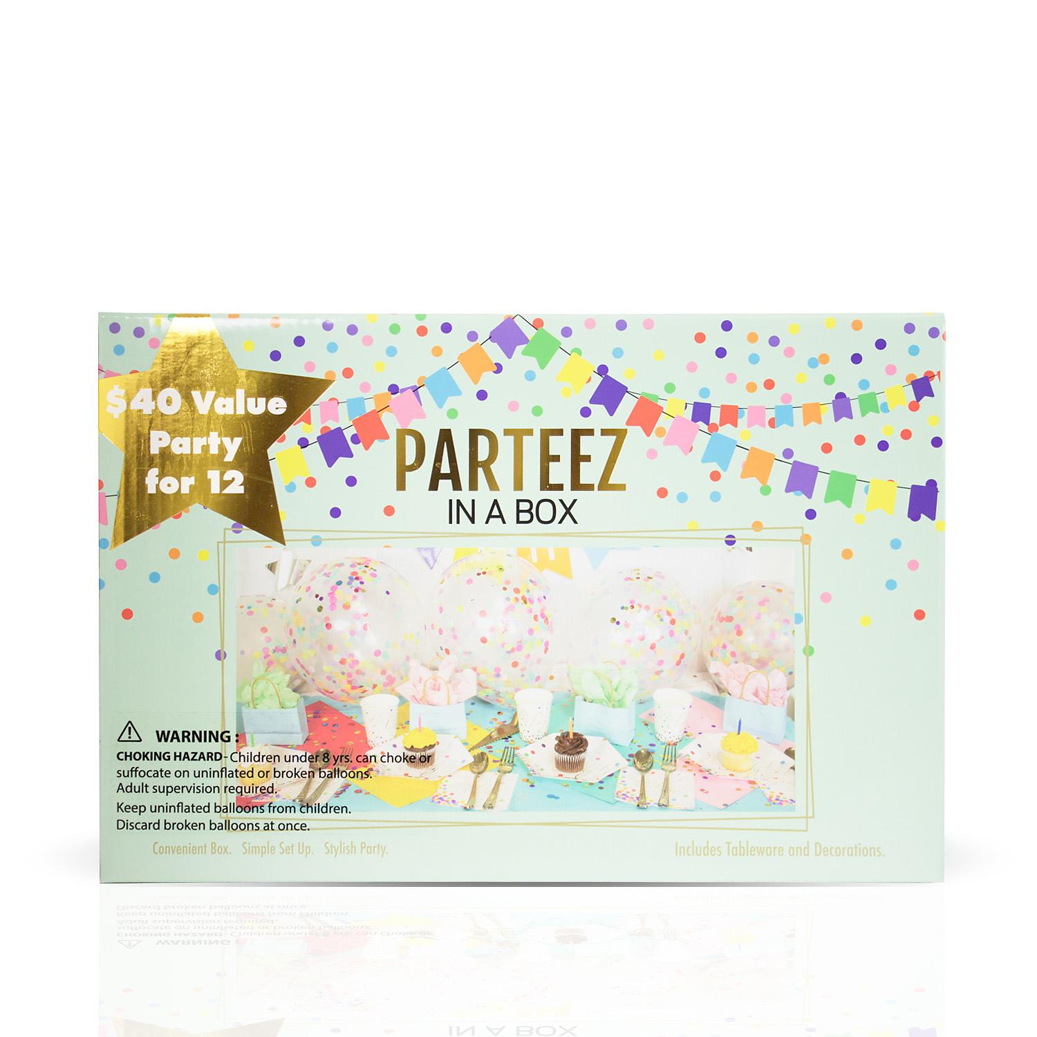 Parteez in a Box, Celebration Party  Set of 12