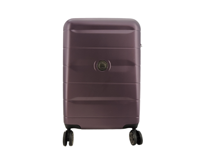 Delsey Paris Comete 2.0 Expanable Spinner Carryon in Purple