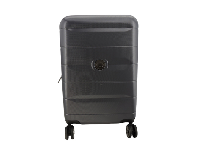 Delsey Revolve Hardside 23 in Expandable Spinner Suitcase in Anthracite