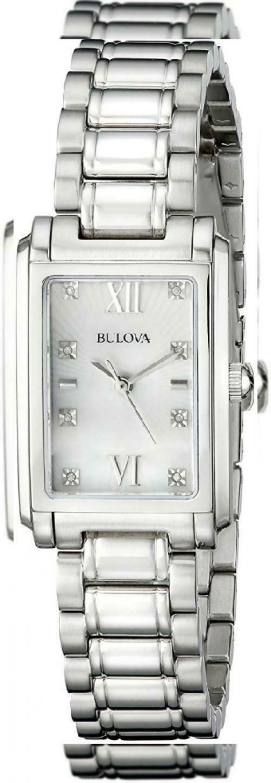Bulova Women's 96P157 Analog Display Quartz Silver Watch