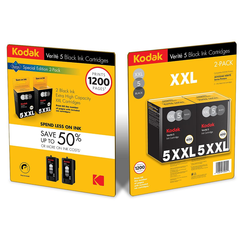 Kodak Verite 5 XXL Black Ink
