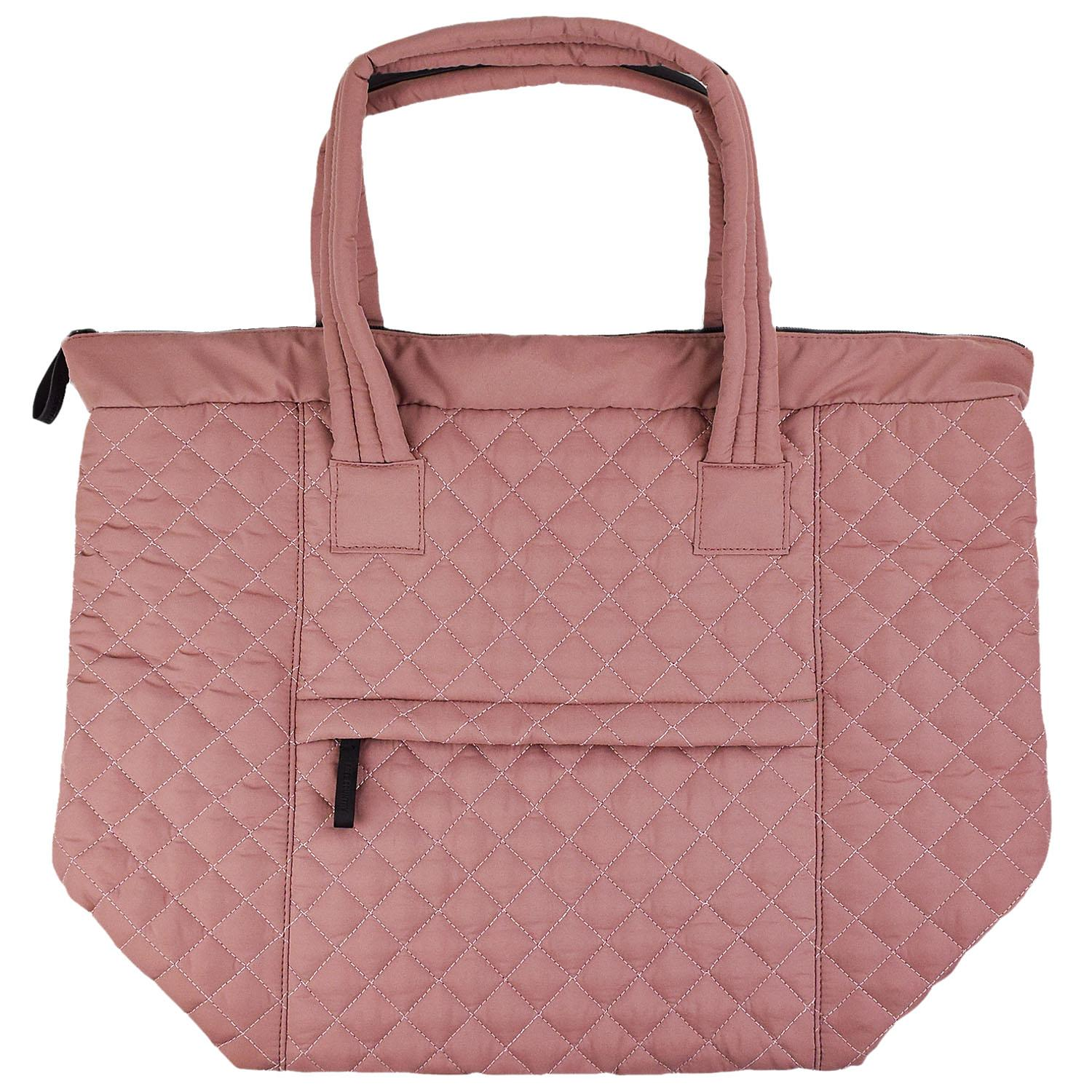 Free Country Quilted Tote Mauve