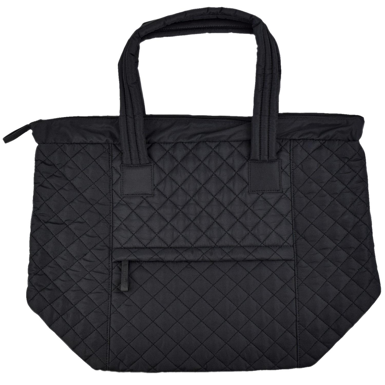 Free Country Quilted Tote Black