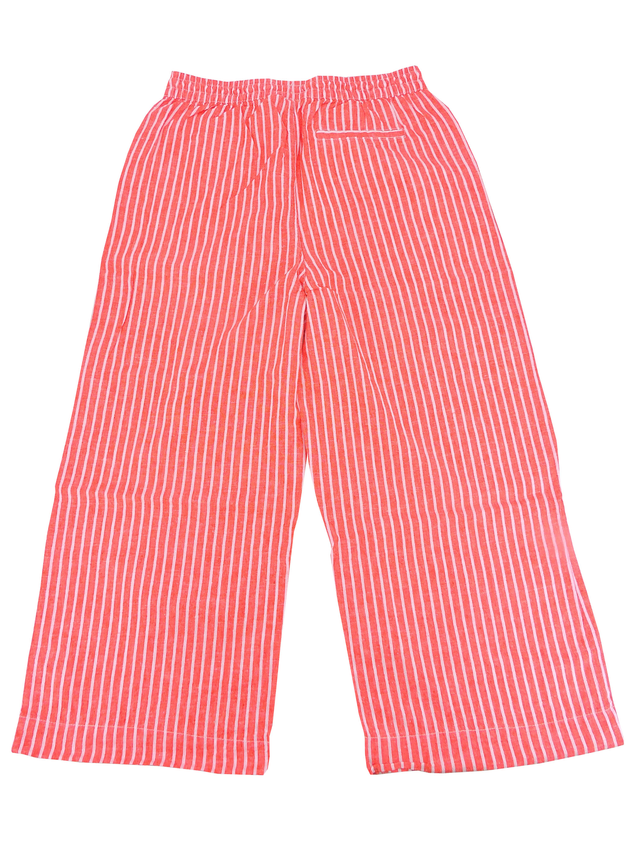 Beach Lunch Lounge Women's Guava Striped Tapered  Leg Pants, L