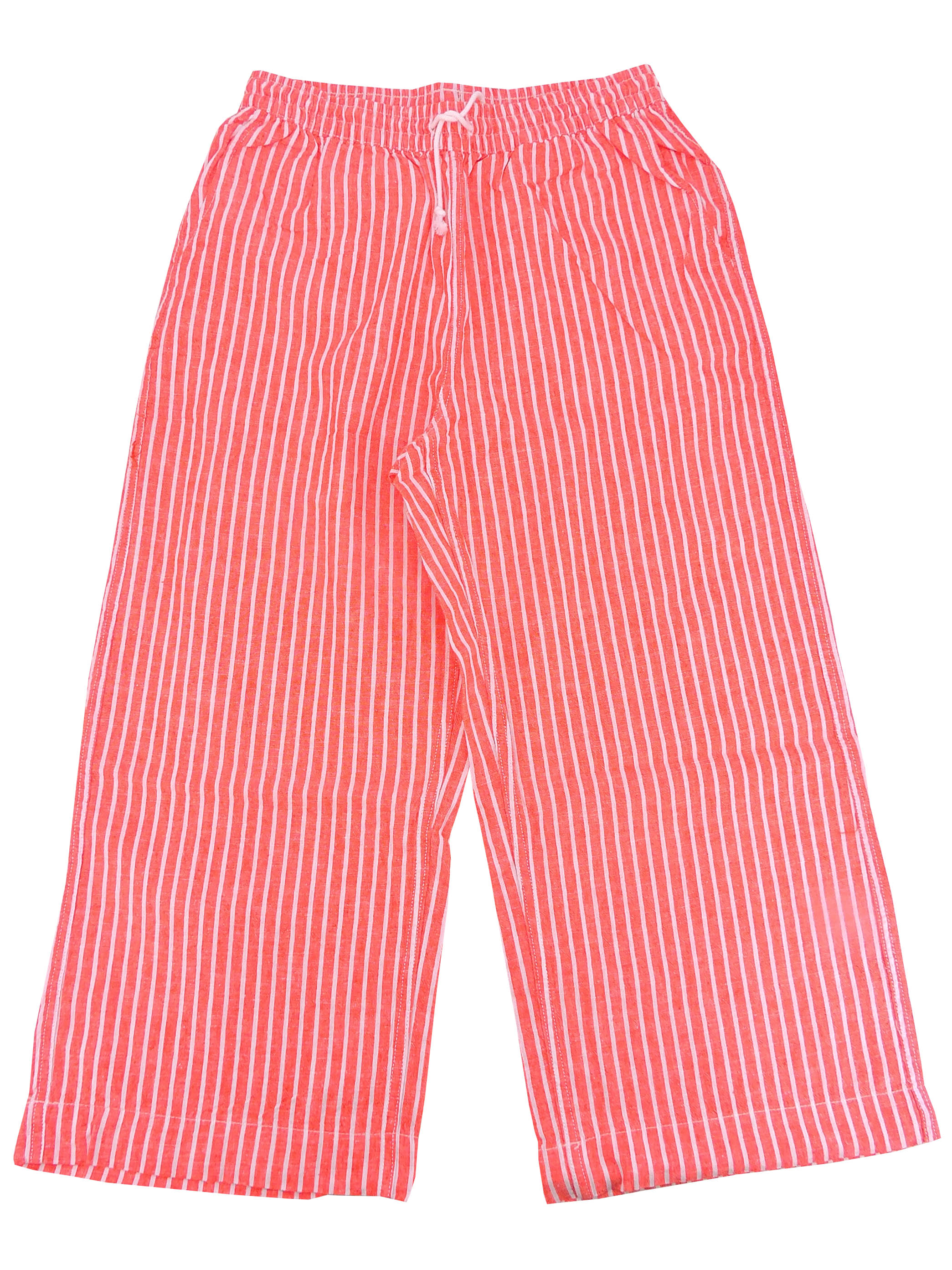 Beach Lunch Lounge Women's Guava Striped Tapered  Leg Pants, S