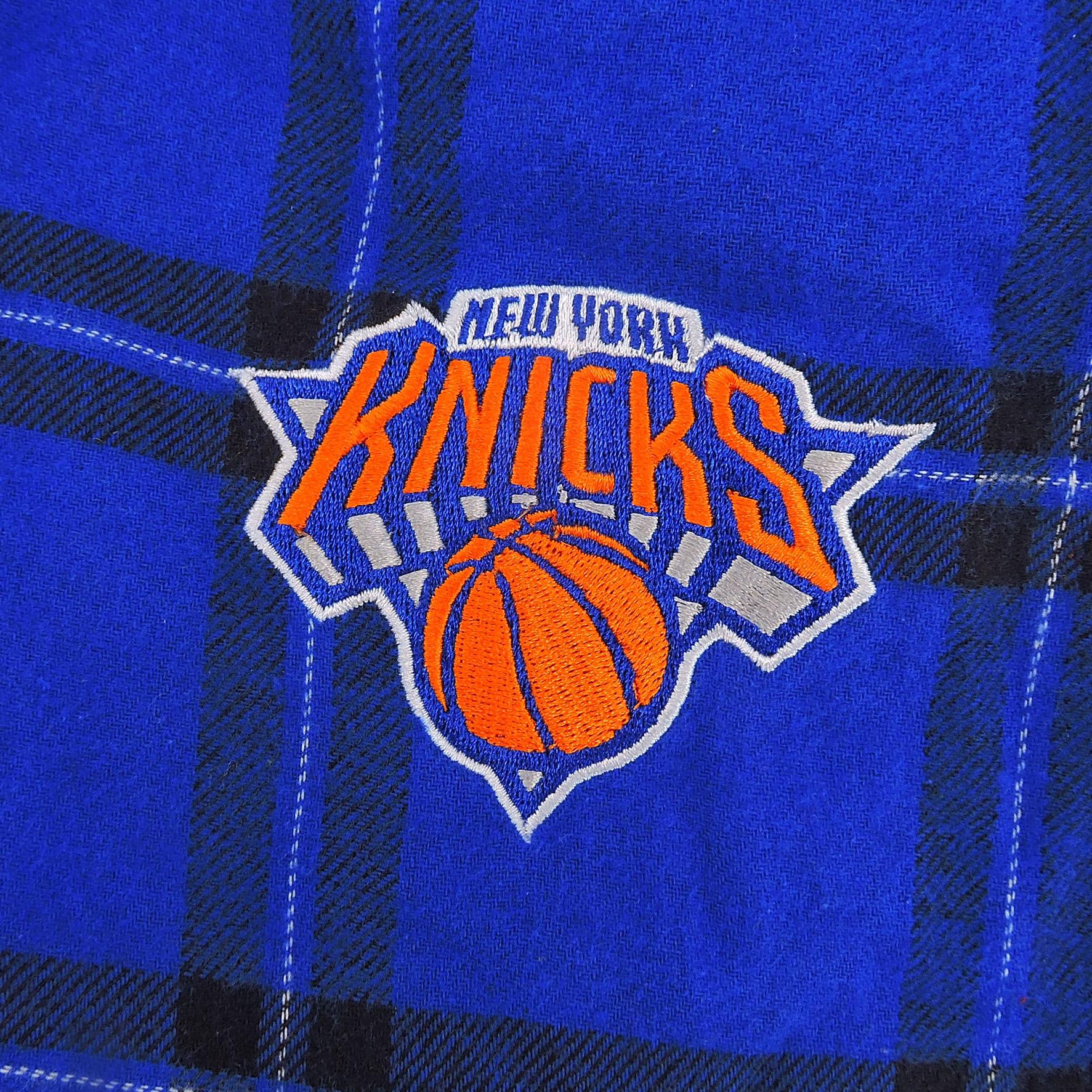 Concepts Sports NBA New York Knicks Sleepwear Pants in Blue, Size XL