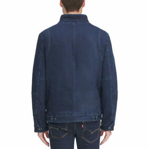 Levi's Men's Stretch Twill Jacket In Navy, L