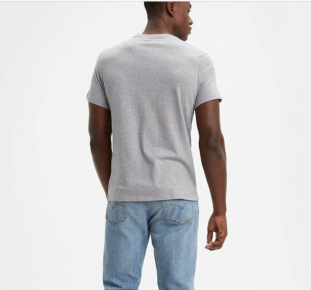 Levi's Men's Logo Classic Tee Shirtt In Grey, L