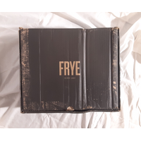 FRYE Women's Veronica Short Boot, Black Soft Vintage Leather, 8.5 M US