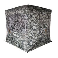 MUDDY Infinity 3Man Ground Blind with Shadow Mesh and 360 Degree View Eliminates Blind Spots