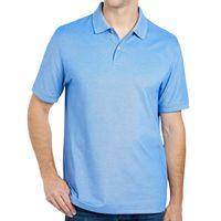 MEMBER'S MARK Stretch Cotton Polo In Sea Blue, L