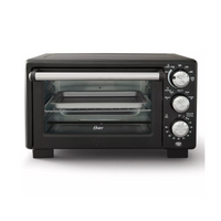 OSTER Countertop Convection and 4Slice Toaster Oven – Matte Black Shop all Oster