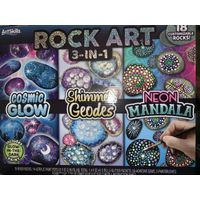Artskills Rock Art 3 in 1 Set