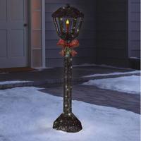 Philips 70ct LED Christmas Lamp Post Glitter Novelty Silhouette Lights