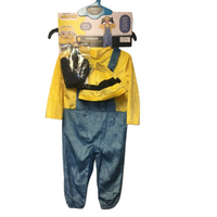 UNIVERSAL CITY STUDIO Robie's Toddler Minion Child Costume In Blue yellow
