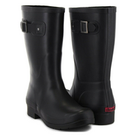 CHOOKA Ladies' Mid Height Rain Boot in Black, 11