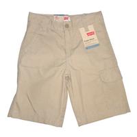 LEVIS Boy's Cargo Shorts in Khaki, Size 8 Reg W24