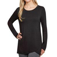 MEMBER'S MARK Ladies LongSleeve Soft Top in Black, Large