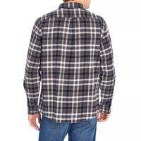 EDDIE BAUER Men's Flannel Shirt In Smoke, M