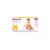 UP & UP Diapers Giant Pack Size 4, 148ct